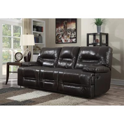 leather sofa sams club sectional sleeper bed stapleton top grain reclining sam s