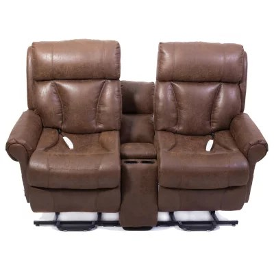 mega motion lift chairs reviews hyken chair accessories as9002 powerlift love seat combo, palance tobacco - sam's club