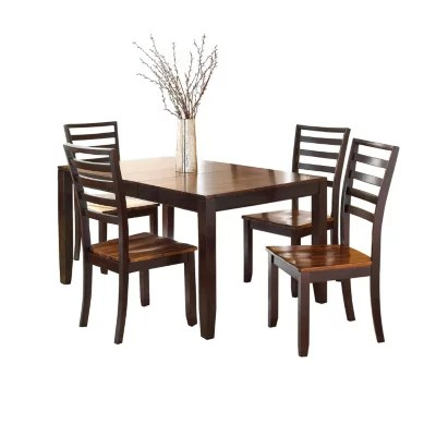 Pierson Extendable Table And Side Chairs 5 Piece Dining