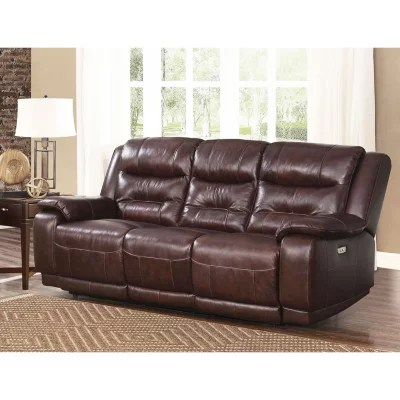 leather sofa sams club small 2 seater uk furniture sam s chandler top grain power with usb port