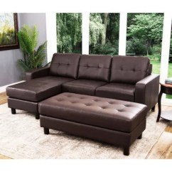Sams Club Living Room Furniture Kitchen Open Floor Plan Sofas Sofa Sectionals Sam S Claire Leather Reversible Sectional And Ottoman Assorted Colors