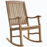Teak Rocking Chair - Sam's Club
