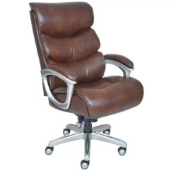 La Z Boy Big Tall Executive Leather Office Chair Black Task Without Arms & Chairs - Sam's Club