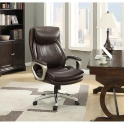 Office Club Chairs White Folding Nz Big Tall Sam S La Z Boy Connelly Executive Chair Brown