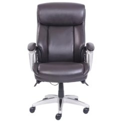 Big And Tall Office Chairs Chair That Rocks Sam S Club La Z Boy Alston Execute No Tools Assembly