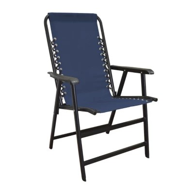 lewis and clark camping chairs bed chair pillow furniture accessories sam s club caravan sports suspension blue