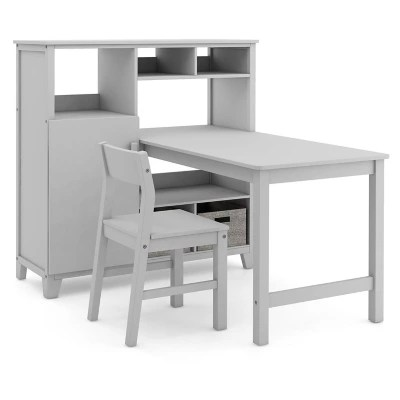martha stewart living and learning kids media system with desk extension and chair assorted colors