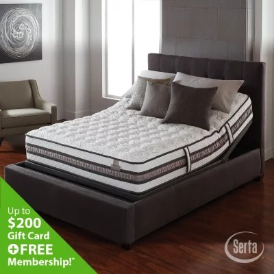 Serta iSeries Vantage Plush Mattress  King  Sams Club