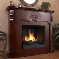 Versailles Electric Fireplace - Dark Mahogany - Sam's Club