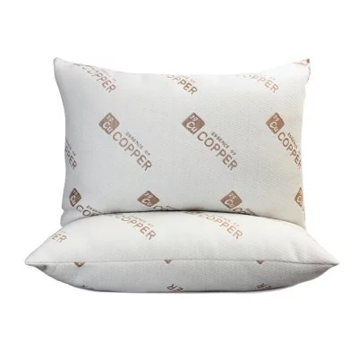 essence of copper bed pillows 2 pack