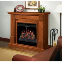 Dimplex Compact Electric Fireplace - Oak - Sam's Club
