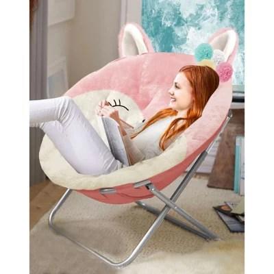 saucer chairs sam s club adams manufacturing american kids plush animal chair detail 2