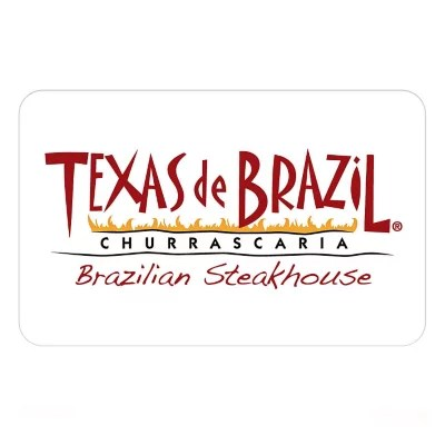 Texas De Brazil Brazilian Steakhouse 100 Gift Card For 79 98 Sam S Club