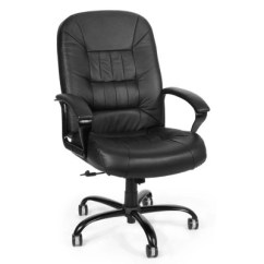 Big And Tall Office Chairs Plastic Bar Bunnings Sam S Club Ofm Leather Chair Black