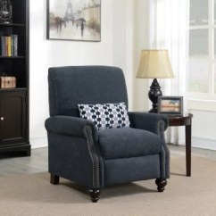 Reclining Club Chair Electric Prop Kit Recliner Chairs Rockers Lounges Sam S Conroe High Leg With Kidney Accent Pillow