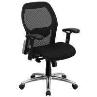 Mesh Office Chair with a Black Mesh Seat - Sam's Club