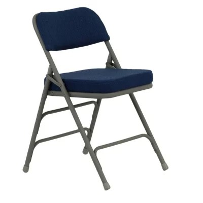 cushioned folding chairs hickory chair newbury stool sam s club