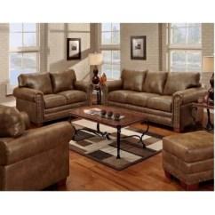Living Room Set On Sale Wall Color Ideas For Small Sets Sam S Club Buckskin Nailhead 4 Pc