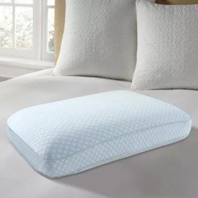 europedic cooling gel ventilated memory foam pillow