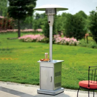 patio heater with electronic ignition