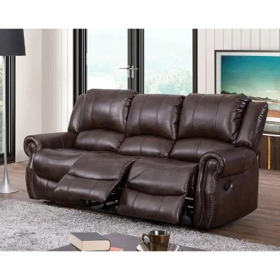 leather sofa sams club extra wide sectional sofas turner triple reclining fabric sam s