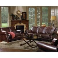 Quest Furniture Julien 3-Piece Leather Living Room Set ...