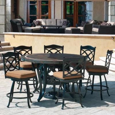 heirloom slate outdoor patio dining set 7 pc original price 999 00