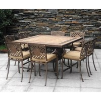 Chateau Patio High Dining Set - 9 pc., Outdoor Furniture ...