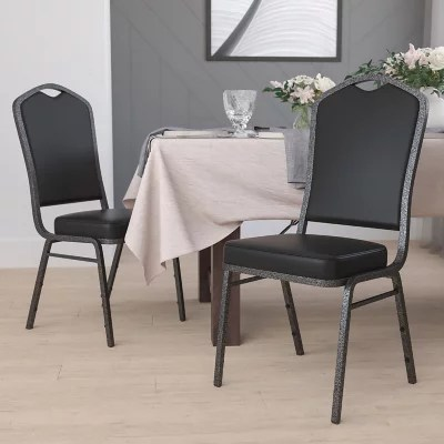 stackable chairs for less tempur pedic office chair tp8000 stacking sam s club flash furniture hercules series crown back vinyl banquet stack black