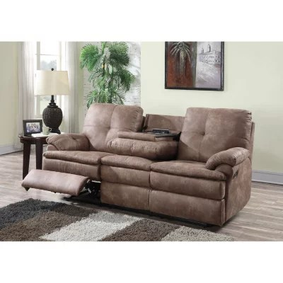 leather sofa sams club la z boy reclining reviews buck faux sam s