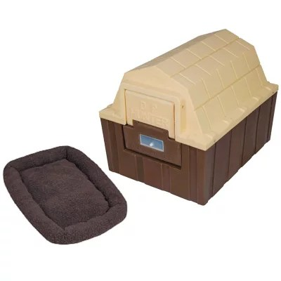Asl Solutions Dp Hunter Insulated Dog House With A Fleece Bed