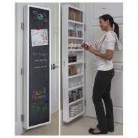 Cabidor Classic Deluxe: Chalkboard Behind-the-Door Storage ...
