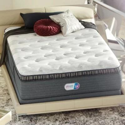 beautyrest platinum haven pines plush pillowtop king mattress set