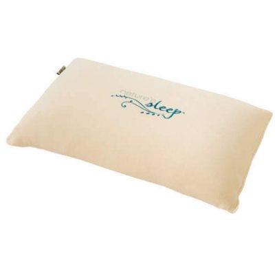 nature s sleep latex pillow queen