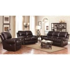 Marlow Reclining Sofa Loveseat And Chair Set Cama Nido Madera $1699.00 Harvest Sofa, ...