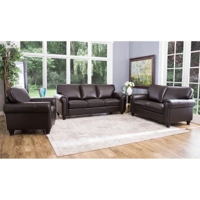 sofa and chairs bloomington mn floral bed sofas sectionals sam s club maverick top grain leather loveseat armchair set