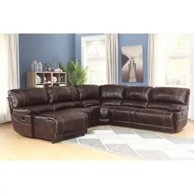 carrington 6 piece sectional sofa various colors