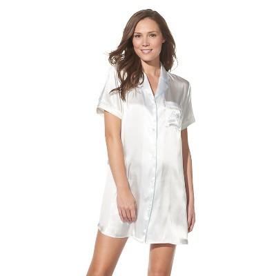 Gilligan & 'malley Women' Bridal Sleep Shirt Ivory