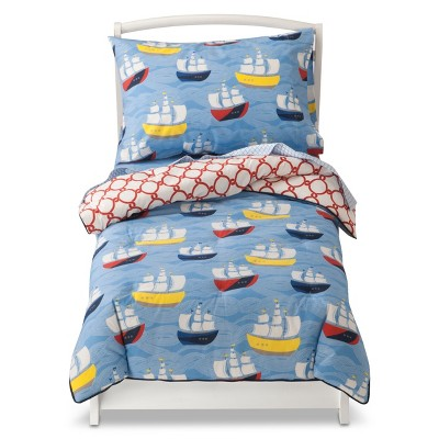 Nautical Boys Bedding Target