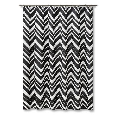 Chevron shower curtain target myideasbedroom com