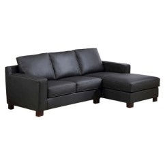 Abbyson Living Westbury Leather Sectional Sofa Black Room Set On Shoppinder
