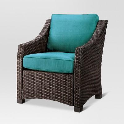Upc 490090001351 - Threshold Belvedere Wicker Club Chair