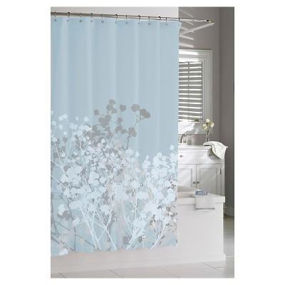 Target Blue Shower Curtains