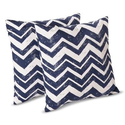 Room Essentials Chevron Toss Pillows  2 Pack  Target