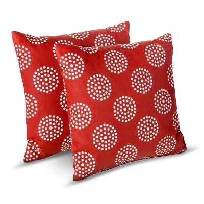 Room Essentials Circle Dot Toss Pillows  Target