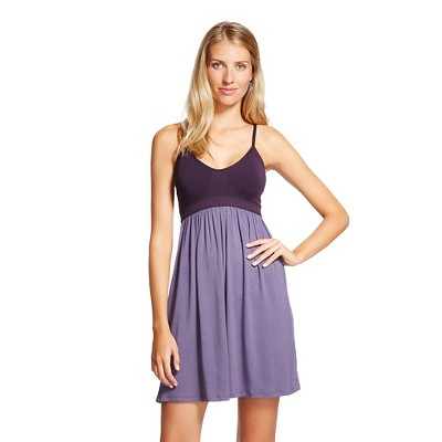 Female Nightgowns Gilligan & 'malley Xs Airy Purple