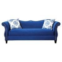 Royal Blue Sofa Royal Blue Sofa Ira Design - TheSofa