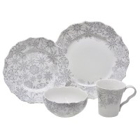 Snowflakes Dinnerware Sets | Christmas Wikii