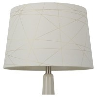 Gold Foil Criss Cross Lamp Shade : Target