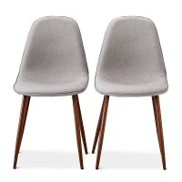 Porter Mid Century Modern Upholstered Dining Chair - Set ...